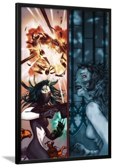 Amazing Fantasy No.10 Cover: Scorpion and Vampire By Night-James Jean-Lamina Framed Poster