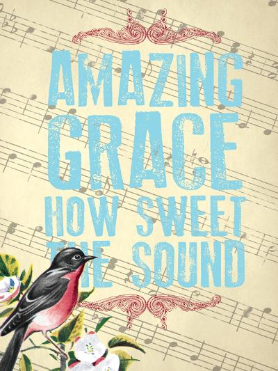 Amazing Grace--Giclee Print