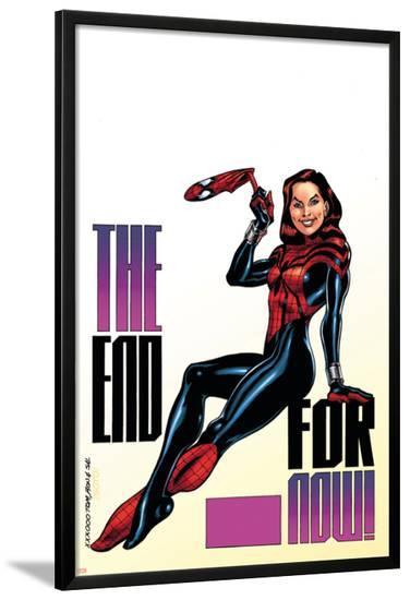 Amazing Spider-Girl No.30 Cover: Spider-Girl-Ron Frenz-Lamina Framed Poster