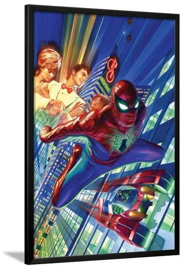 Amazing Spider-Man #1 Cover-Alex Ross-Lamina Framed Poster