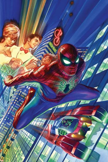 Amazing Spider-Man #1 Cover-Alex Ross-Art Print