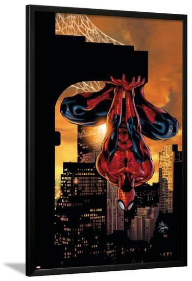 Amazing Spider-Man Family No.2 Cover: Spider-Man-Mike Deodato-Lamina Framed Poster