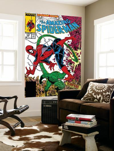 Amazing Spider-Man No.318 Cover: Spider-Man and Scorpion-Todd McFarlane-Wall Mural
