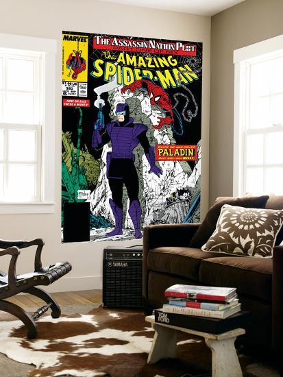 Amazing Spider-Man No.320 Cover: Spider-Man and Paladin-Todd McFarlane-Wall Mural