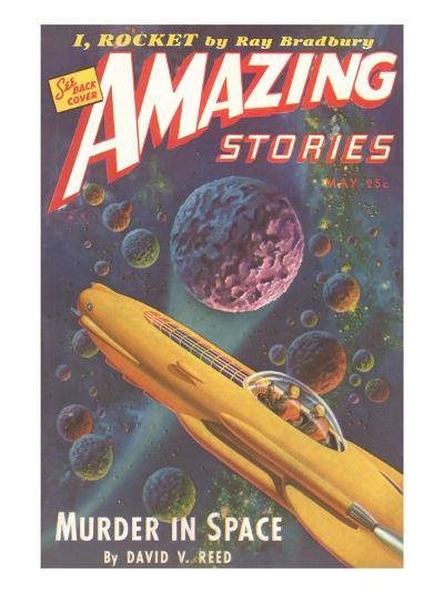 Amazing Stories Magazine Cover--Art Print