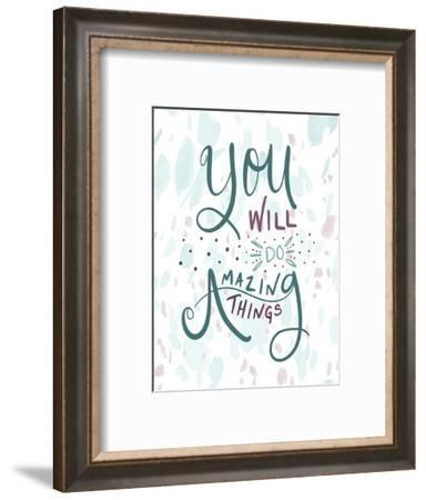 Amazing Things-Tara Moss-Framed Art Print