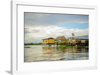 Amazon Beach House-Romona Murdock-Framed Photographic Print