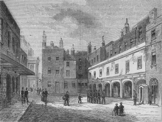 Ambassadors' Court, St. James's Palace, Westminster, London, 1875 (1878)-Unknown-Giclee Print