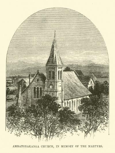 Ambatonakanga Church, in Memory of the Martyrs--Giclee Print