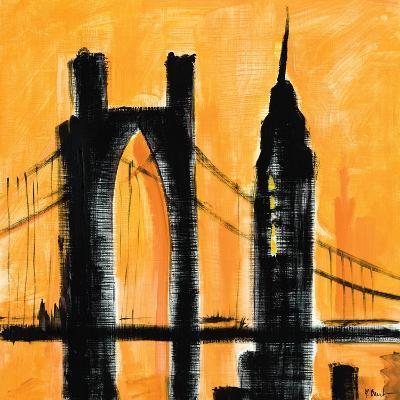 Amber Cityscape-Paul Brent-Art Print