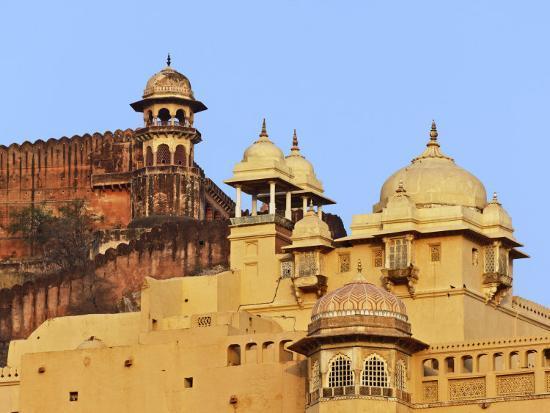 Amber Fort, Jaipur, India-Adam Jones-Photographic Print