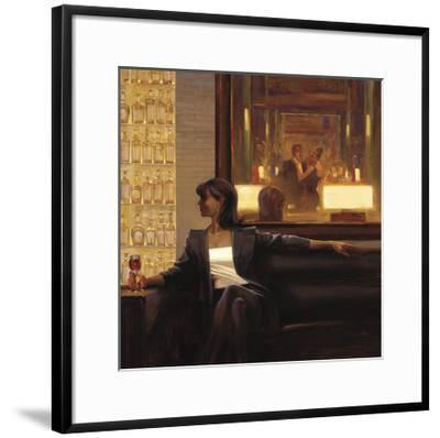 Amber Glow 2-Brent Lynch-Framed Art Print