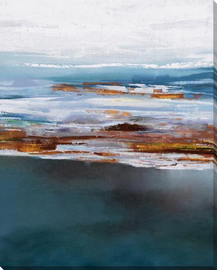 Amber Horizon--Hand Painted Art