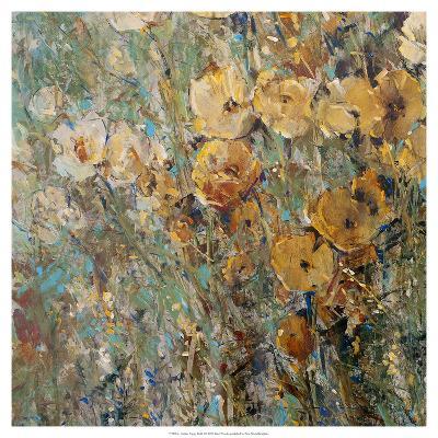 Amber Poppy Field I--Art Print