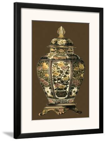 Amber Porcelain II--Framed Art Print