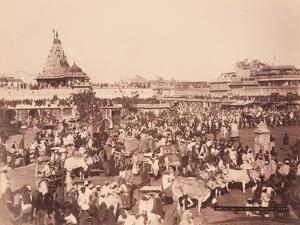 Amber Square on Sun Procession Day, 1870S
