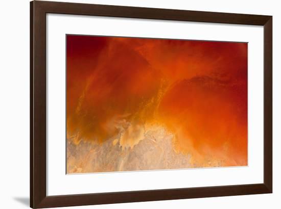 Amber Tide I-Peter Adams-Framed Giclee Print