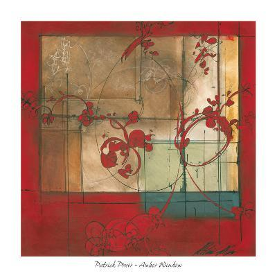Amber Window-Patrick Pryor-Art Print