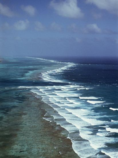 Ambergris Cay, Second Longest Reef in the World, Near San Pedro, Belize, Central America-Upperhall-Photographic Print