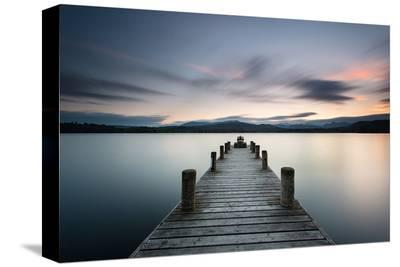 Ambleside Lake District Dusk--Stretched Canvas Print