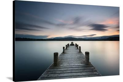 Ambleside Lake District Dusk--Stretched Canvas Print