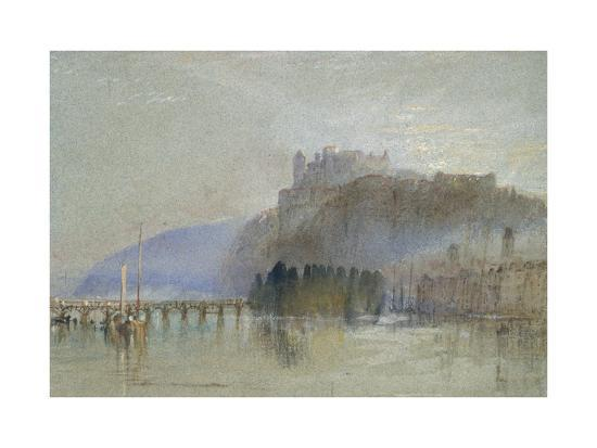 Amboise, C. 1830-J^ M^ W^ Turner-Giclee Print