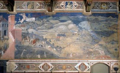 Allegory of Good and Bad Government: the Effects of Good Government in the Countryside