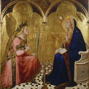 Annunciation, 1344 by Ambrogio Lorenzetti