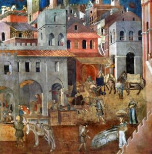 The Blessings of Good Government by Ambrogio Lorenzetti