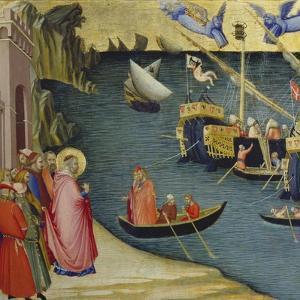 The Legend of Saint Nicholas by Ambrogio Lorenzetti