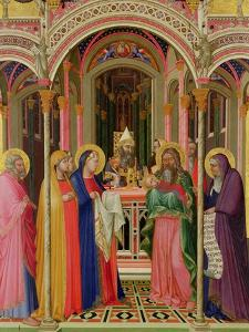 The Presentation in the Temple, 1342 by Ambrogio Lorenzetti