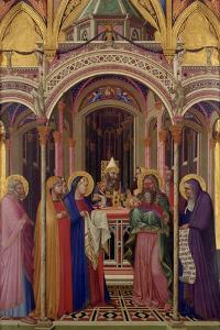 The Presentation in the Temple, 1342 by Ambrogio Lorenzetti