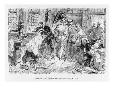 Ambroise Pare Surgeon--Giclee Print