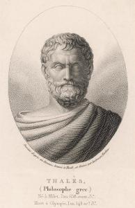 Thales of Miletus Greek Philosopher and Scientist by Ambroise Tardieu