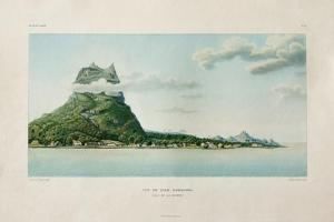 View of the Island of Bora Bora by Ambroise Tardieu