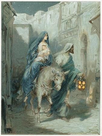 The Flight into Egypt by Ambrose Dudley