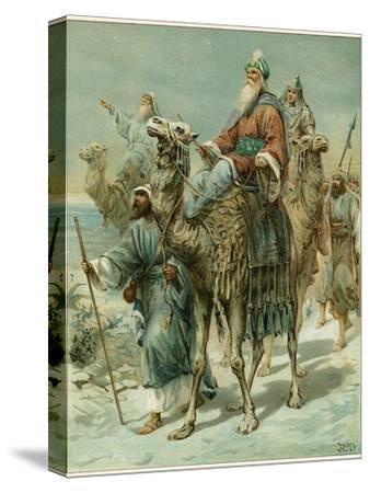 The Wise Men Seeking Jesus