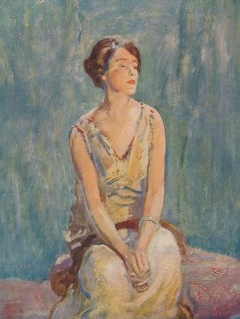 'A Portrait', c1922, (c1932)