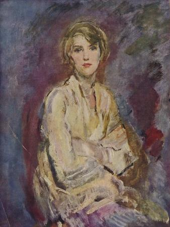 'Anna, Daughter of the Artist', 1905 (1935)