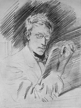 'Portrait of the Artist', c1912 (1935)