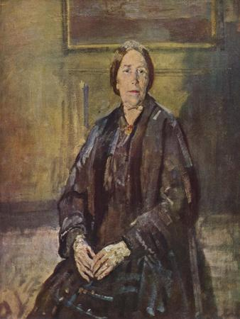 'The Artist's Mother', 1935