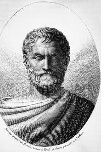 Portrait of Thales of Miletus by Ambrose Tardieu