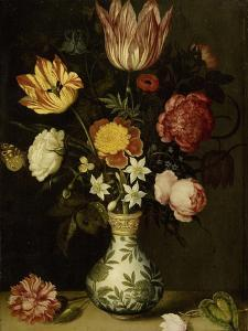 Still Life with Flowers in a Wan-Li Vase by Ambrosius Bosschaert