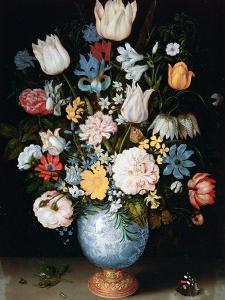 Bouquet of Flowers, 1609 by Ambrosius Bosschaert the Elder