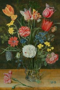 Still Life with Spring Flowers by Ambrosius Brueghel