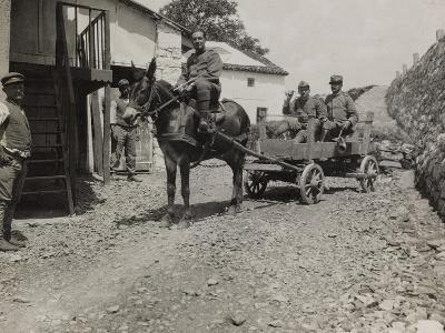 Ambulance 73 Officers During the First World War-Luigi Verdi-Photographic Print