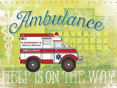Ambulance-Jennifer Pugh-Art Print