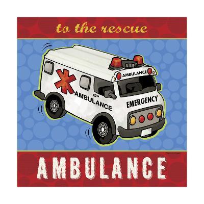 Ambulance-Stephanie Marrott-Giclee Print