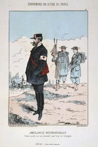 Ambulances Internationales, Siege of Paris, 1870-1871