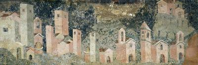 Ambulatory of Cosmatesque Cloister in Monastery of St Scholastica, Subiaco. Italy, 13th Century--Giclee Print